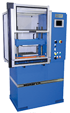 Monarch Series proppant crush tester, frac sand press.